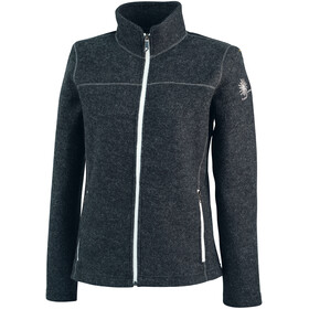 Ivanhoe of Sweden Beata Full-Zip Jacke Damen graphite marl